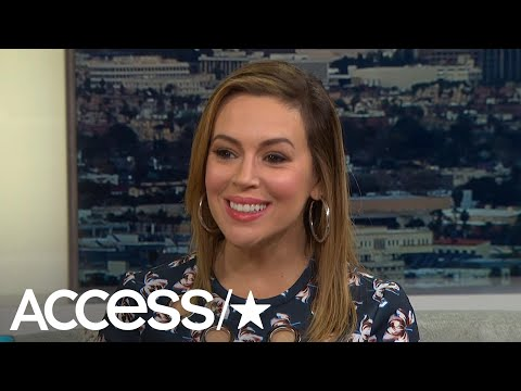 Alyssa Milano Has 'No Doubt' Heather Locklear Will Get Back On Her Feet | Access