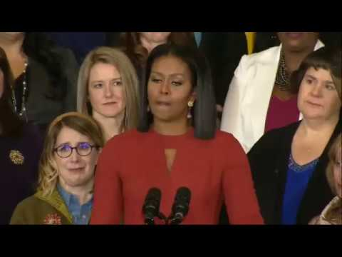 Michelle Obama's inspiring farewell speech as FLOTUS