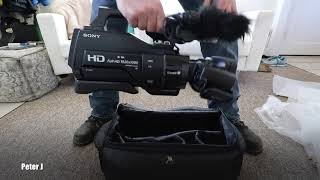 Sony HXR-MC2500 Camcorder Unboxing