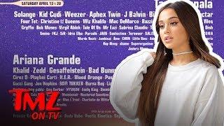 Ariana Grande Headlining Coachella Is A Nod To Female Empowerment | TMZ TV