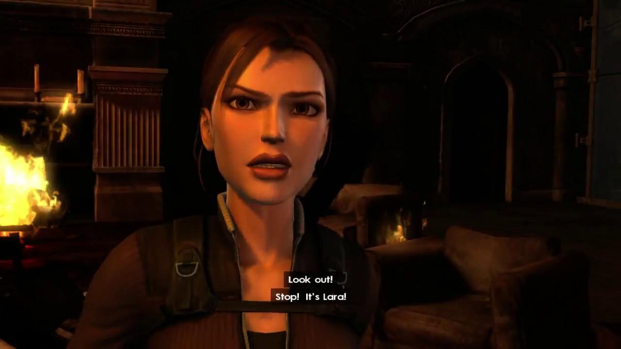 Tomb Raider Underworld Gameplay Beginning Xbox 360 Youtube