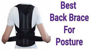 Adjustable Best Back Brace For Posture | Men-Women