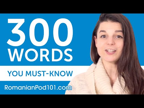 300 Words Every Romanian Beginner Must Know