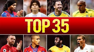 Download Top 35 Legendary Goals In Football History Mp3 and Videos