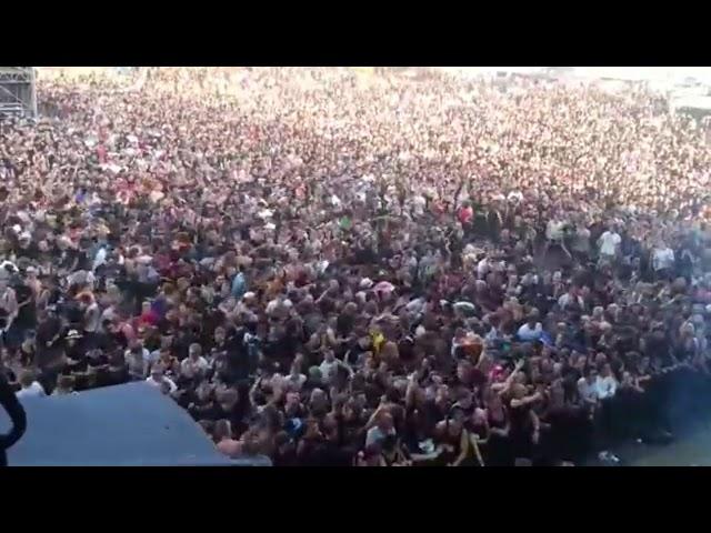 Osaka Flu - Mi Fa Schifo Lavorare (Live a Tregozzano) |Pogo Violento|