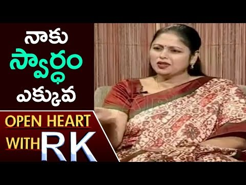 Actress Jayasudha About Her Husband Nitin Kapoor | Open Heart With RK | ABN Telugu
