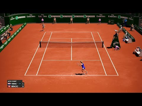 Donna Vekic vs Belinda Bencic - Roland Garros 2019 - AO International Tennis