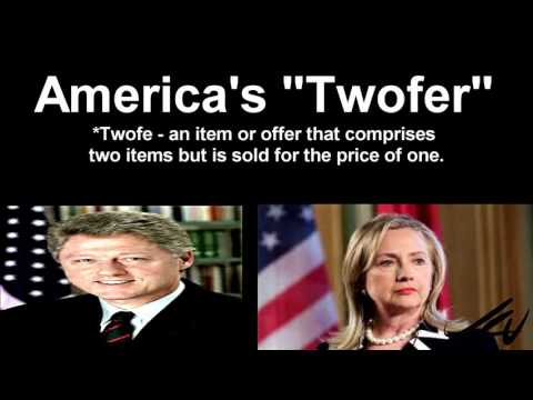 Hillary and Bill Clinton - Twofer Candidates    - YouTube