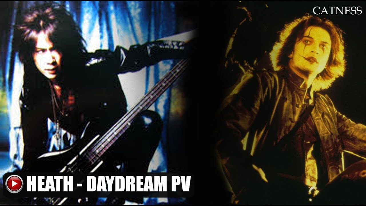 Heath (X Japan) - Daydream (PV) The Crow scenes
