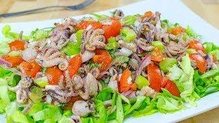 Reteta Salata cu caracatita - JamilaCuisine