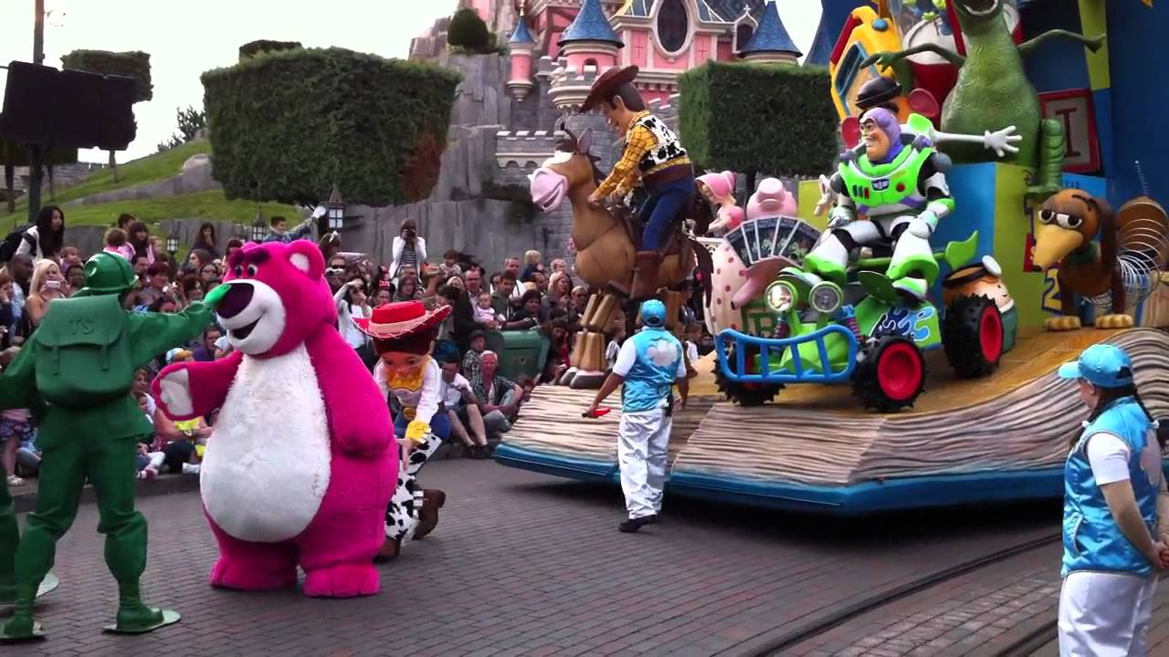 Toy Story Toys Official Lotso Bear And Toy Story 9 June 2011 Disneyland Paris