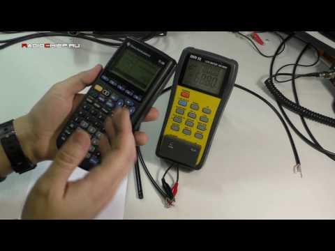 Как измерить волновое сопротивление кабеля