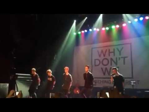 Why Don't We-Something Different Live,NYC