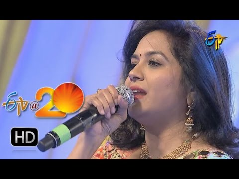 Sunitha Performance - Palike Gorinka Song in Nalgonda ETV @ 20 Celebrations