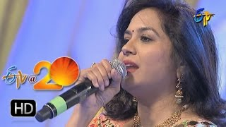 Sunitha Performance - Palike Gorinka Song in Nalgonda ETV @ 20 Celebrations