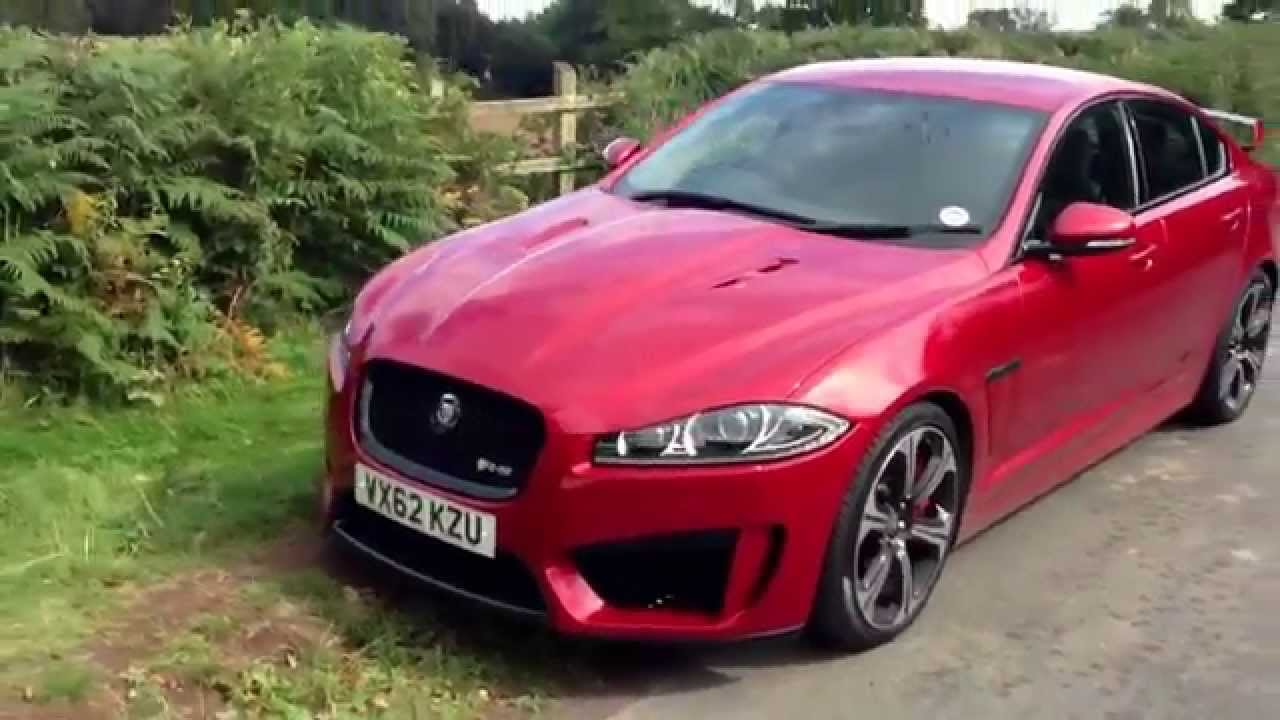 Jaguar XFRS review and walk round  YouTube