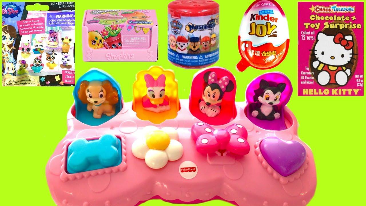 Disney Minnie Mouse Pop Up Surprise Pals Disney Mickey Mouse ...
