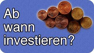 Ab wann in Aktien oder Forex investieren? Lohnen 500€ zum Einstieg?
