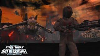 Star Wars Battlefront 2 Mod | Corra Glorious Wasteland | Domination Mode