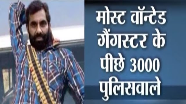 Most Wanted Gangster Anand Pal Singh and 3000 Policemen   YouTube