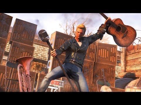 Fallout 76: c'erano un Ardente, un Ghoul e un Supermutante al bar - Gameplay Spoiler