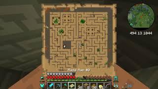 Minecraft Hexxit episode 17 The Maze loot!