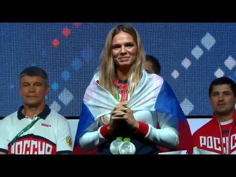 LIVE: Efimova holds press conference following Rio 2016 Olympic Games