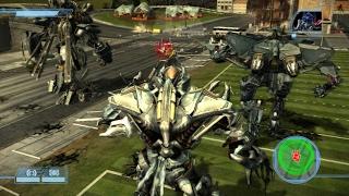 [Epic Modding] Transformers The Game: [A.I vs A.I] Megatron,Grindor,Starscream vs Optimus Prime