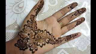 Beautiful Arabic Henna Mehendi Design For Indian And Pakistani Festivals- Eid And Teej Special