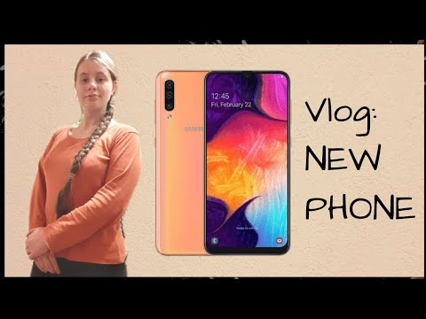 Samsung Galaxy A50📱 vlog: new phone you need to see!