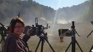 DShK 1938 Machine gun Knob Creek Fall 2016 Machine Gun Shoot