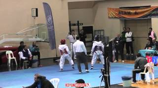 (5039) 46kg Tugce Zararsiz vs Yasemin Keser (2016 Turkish Junior TKD championships)