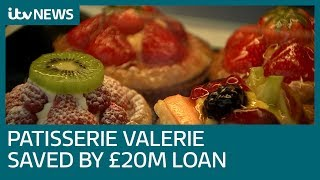 Patisserie Valerie saved by £20 million cash injection | ITV News