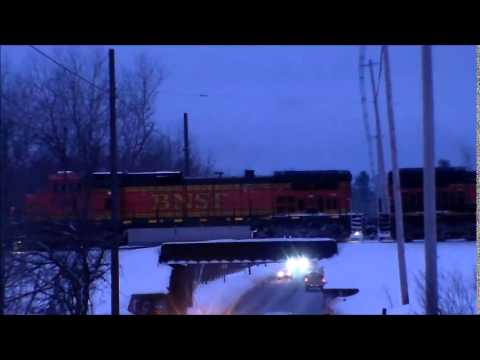 BNSF Crude Oil Train on CMQR *RARE* - 2/19/2015