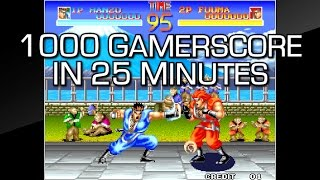 1,000 Gamerscore in 25 Minutes - ACA NEOGEO WORLD HEROES Achievement Guide