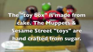 Muppets & Sesame Street Toy Box Cake