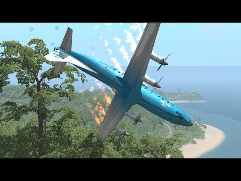 Airplane Crashes & Crash Landings - BeamNG Drive