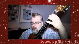 Guitarundervisning - Dejlig er den himmelblå akkorder - guitar lektion