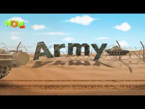 The Army - Motu Patlu In Hindi