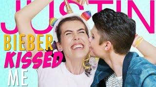 JUSTIN BIEBER KISSED ME