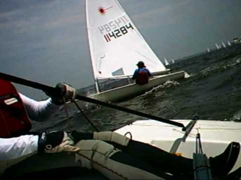 """""""From the Back of the Fleet"""" - 2010 Laser Atlantic Coast Championship"""
