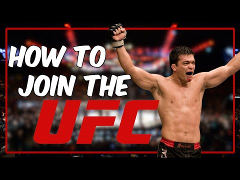 How To Become A UFC Fighter