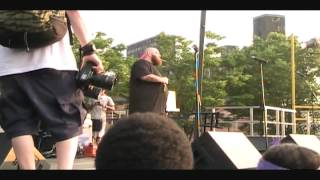 Action Bronson - Pouches of tuna Live At Red Hook Park, Brooklyn NY 6/19/12