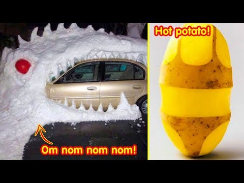 Hilarious Cases Of Boredom Making People Creative 「 funny photos 」