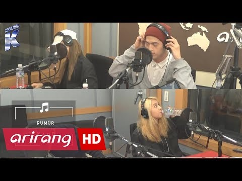Sound K KARD 카드 & RUMOR  Arirang Radio