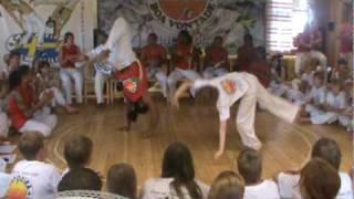 18/07/2010 - AO VIVO (2) - BATIZADO DE CAPOEIRA, GINGA NA MATA 2010