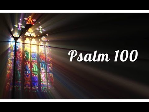 Psalm 100 - Make A Joyful Noise by Willa-Jo Greene (Lyric Video)