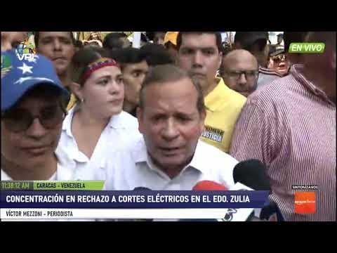 Caracas - Juan Pablo Guanipa Apareció En Marcha Por El Zulia Pese A Persecución Del Régimen - VPItv