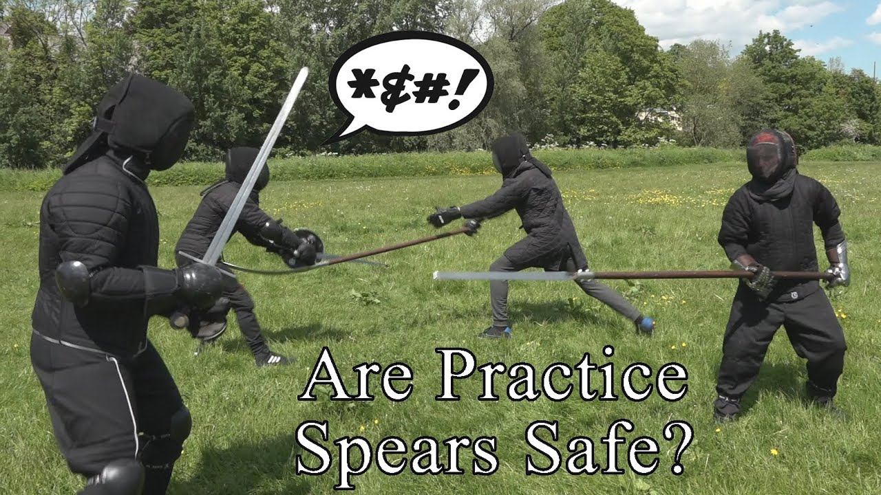 How safe can you make a practice spear?