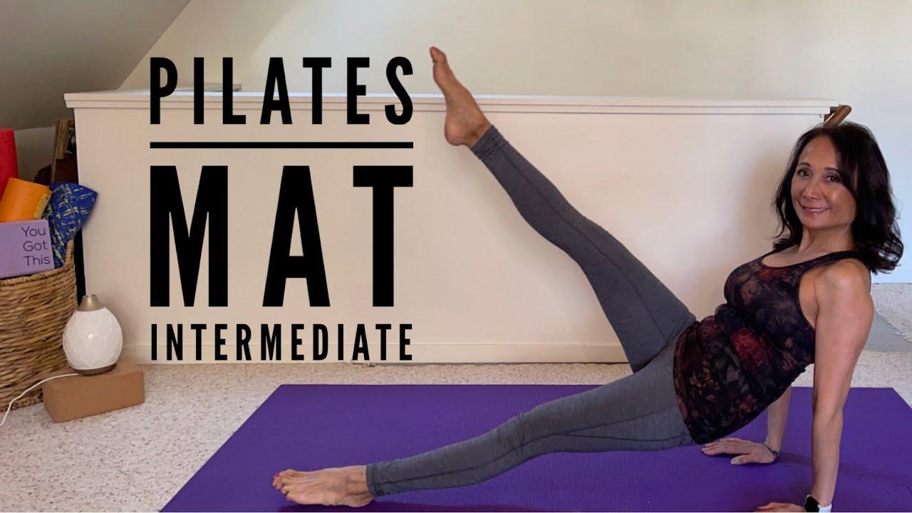 Intermediate pilates mat workout